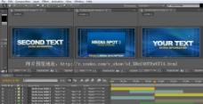 AE3D动态高清经济公司类及产品介绍视频模板带音乐