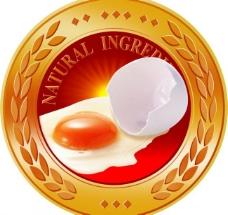 鸡蛋标签图图片
