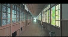 日式走廊图片