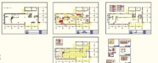建设银行装修平面图及施工图图片