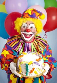 生日派对上的小丑图片