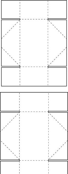 特殊盒型展开图图片