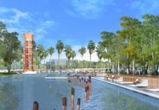 中南民族大学 水面设计图片