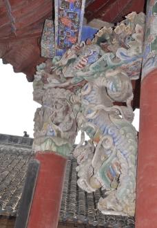 花戏楼砖雕图片