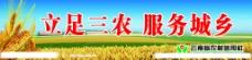 农村信用社宣传画图片