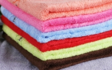 竹纤维毛巾图片