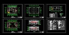 CAD两层别墅图图片
