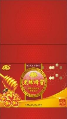 蜂蜜包装盒图片