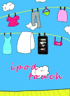 ipod touch 海报图片