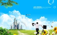 韩国海报图片
