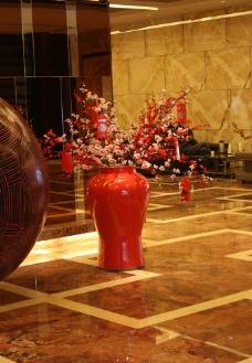 酒店花瓶图片