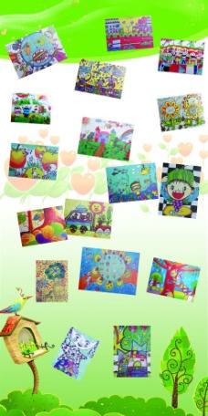 幼儿园柱子包装图片