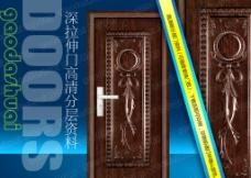 钢木室内门图片
