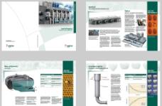 国外生产企业画册设计图片
