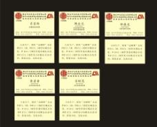 中信集团 名片图片