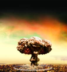 蘑菇云图片