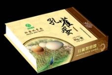 孔雀蛋盒包装图片