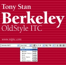 BerkeleyOldStyle系列字体下载