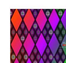 彩色动感菱形背景图片