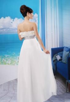 婚纱模特图片
