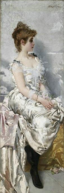 19世纪油画图片