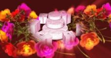 蛋糕礼物玫瑰