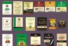 红酒包装 葡萄酒 酒标