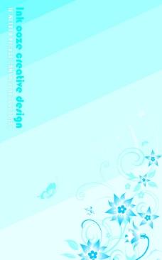 蓝色矢量背景图片