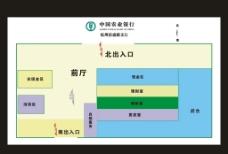 银行平面图图片