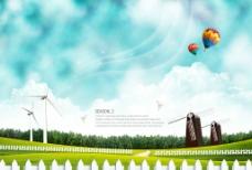气象海报图片