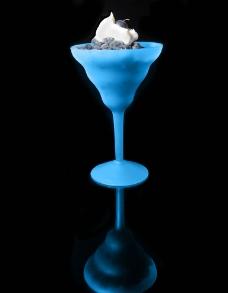 蓝莓广告摄影图片