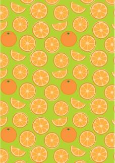 缤纷鲜橙背景图片