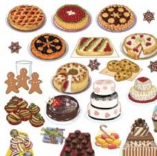 西式甜點糕餅美食