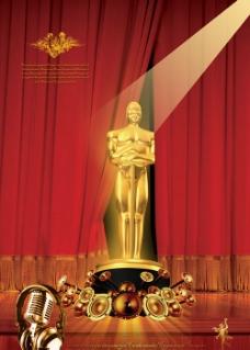 颁奖海报图片