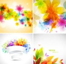梦幻花纹花朵图片