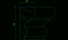 欧式构造 室内常用饰线图片