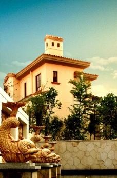 歐式房地產建筑圖片