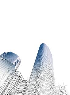 素描大厦图片