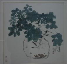 國畫花卉圖片