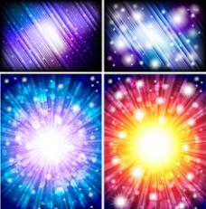 炫彩动感线条光线图片